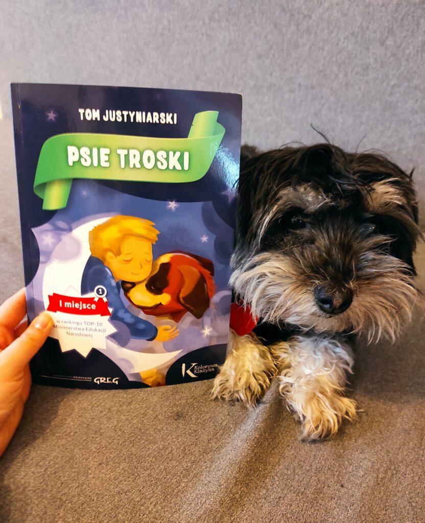""",,Psie troski"""" - Tom Justyniarski : o bezwarunkowej miłości do zwierząt"""