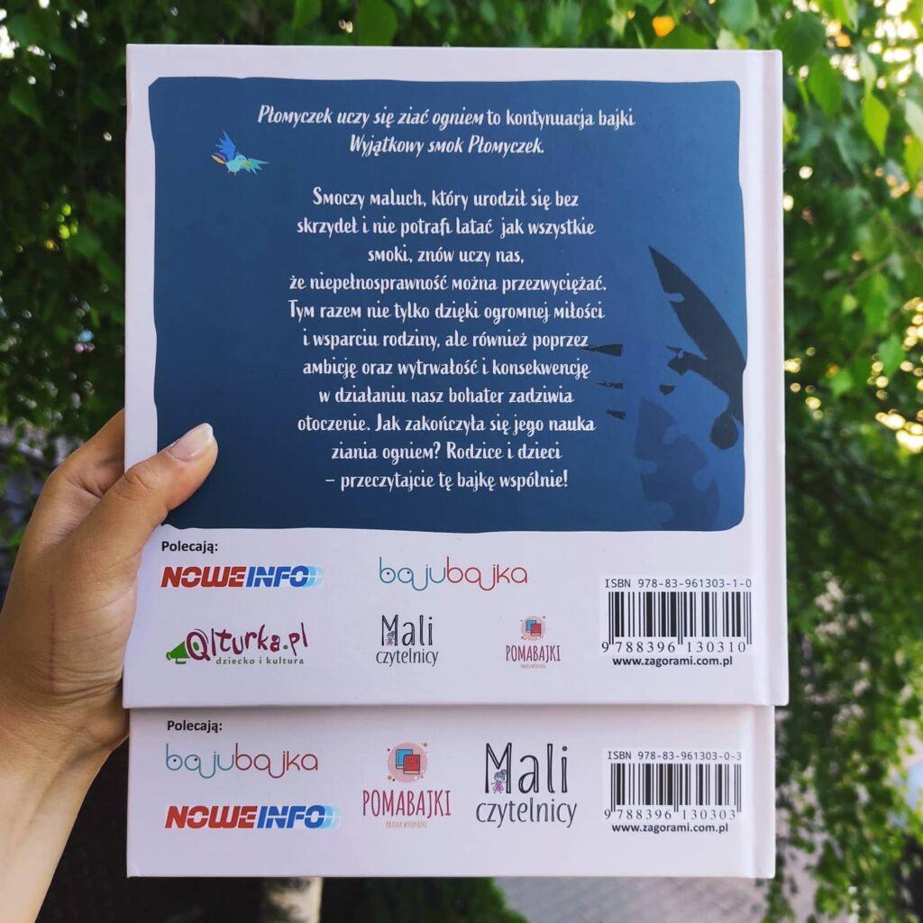 Pomabajki - patronat medialny książki dla dzieci